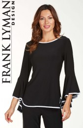 frank-lyman-181004-black-and-white-full-sleeve-top-5WLX